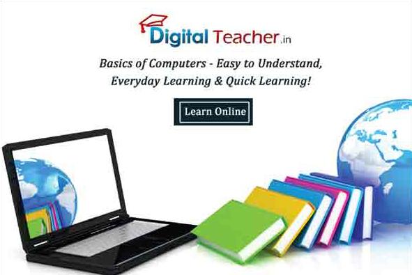 basics of computer, digital teacher smart class
