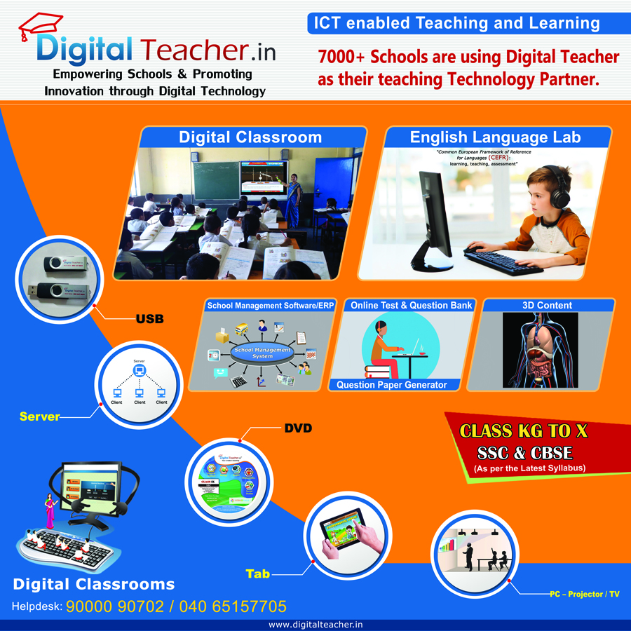 Digital Teacher is an extraordinary blend of technology and innovation