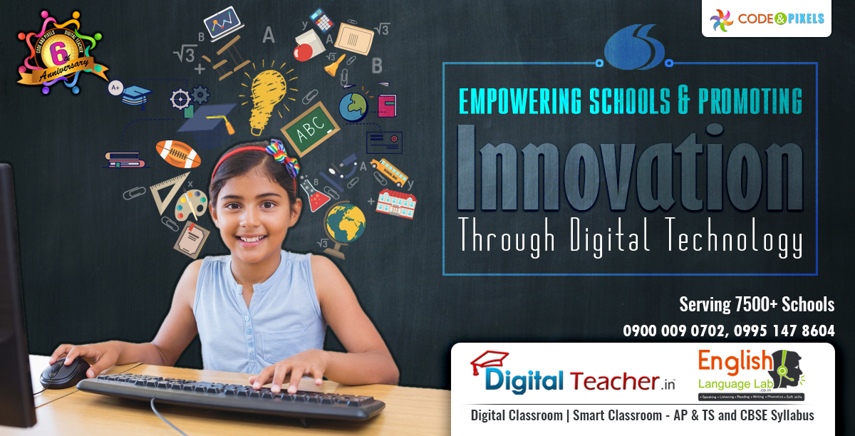digital teacher main aim is to empowering schools and promoting innovation through digital technology