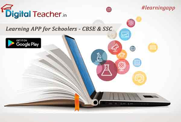 Learn your SSC & CBSE syllabus with our digital teacher learning app