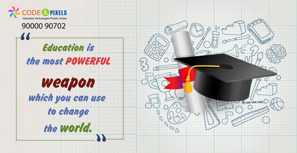 Education is the most powerful weapon - Digital Teacher