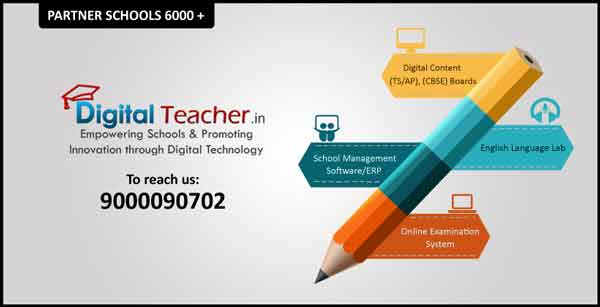 Digital teacher products - digital content, english language lab, sms/erp, oes