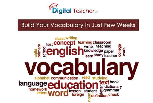 Build your English vocabulary within few weeks.