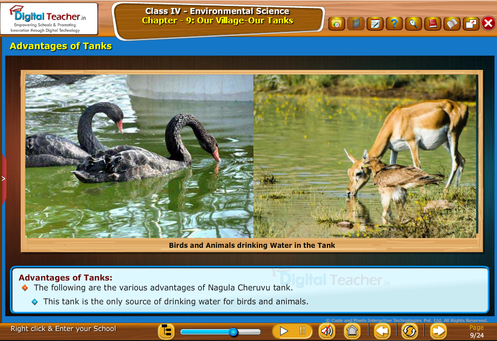 Advantages of tanks