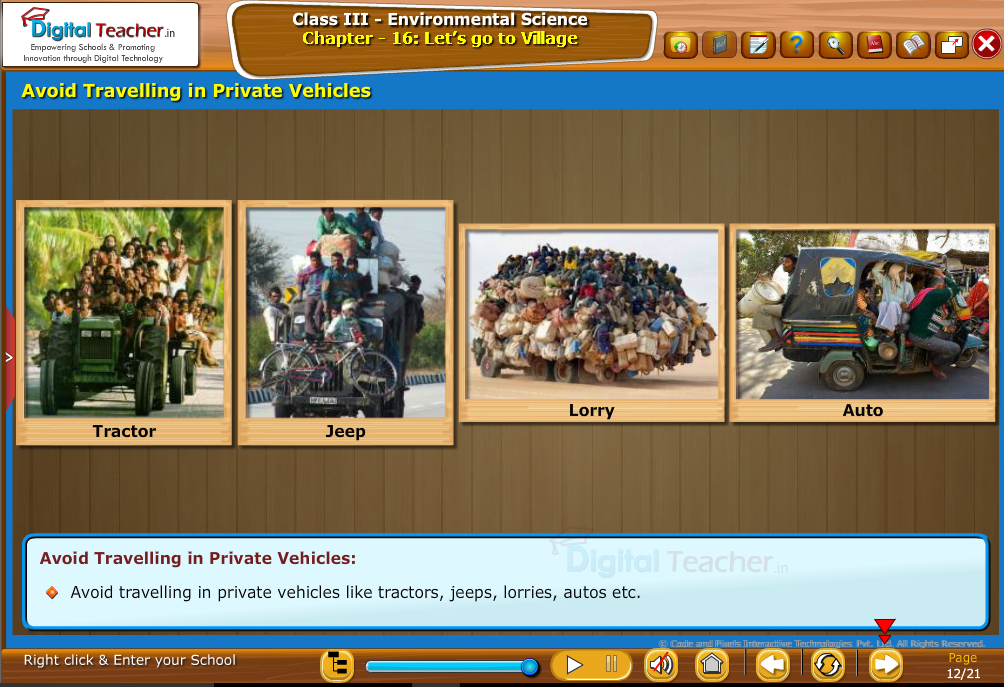 Avoid travelling in private vehicals