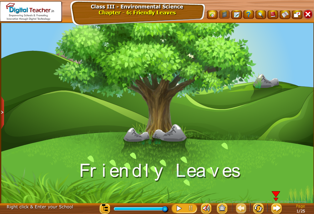 Friendly Leaves