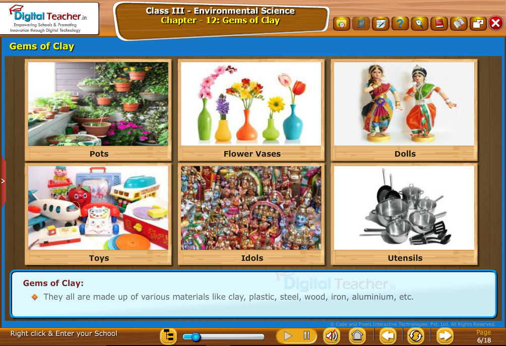 Gems of clay