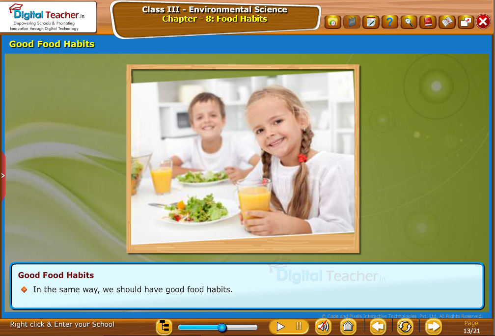 Good fod habits