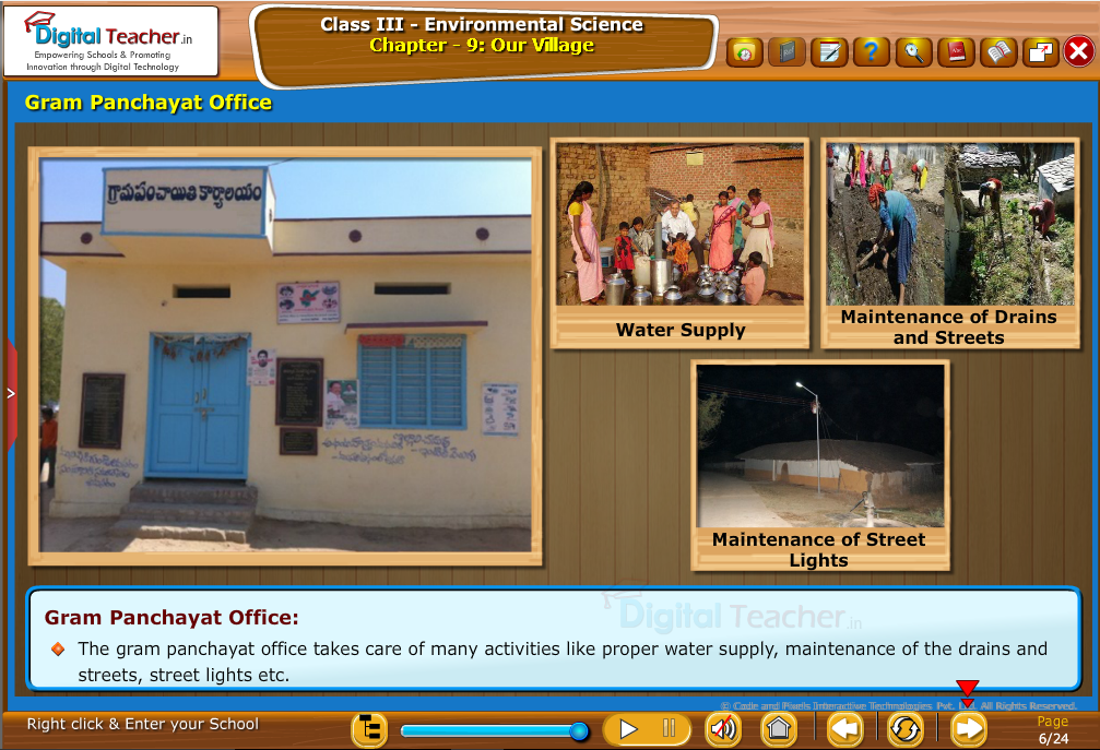 Gram panchayat office