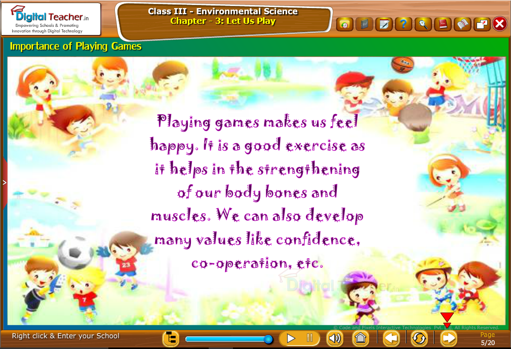 Importance of playing Games