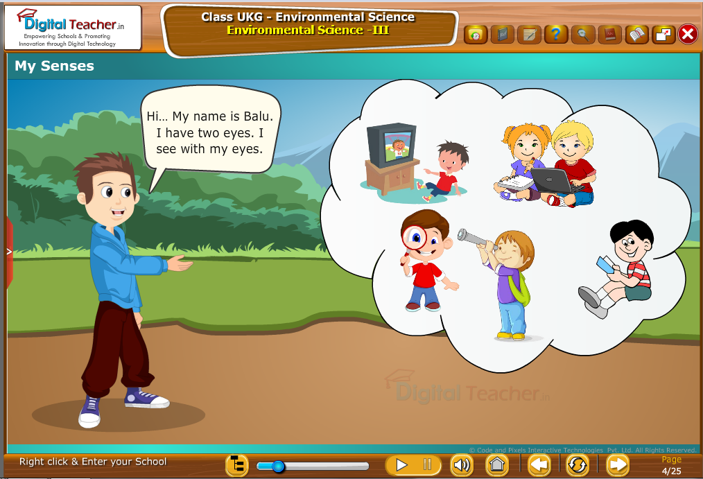 My senses - Eyes