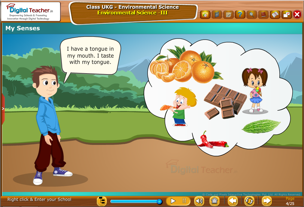 My senses - tongue