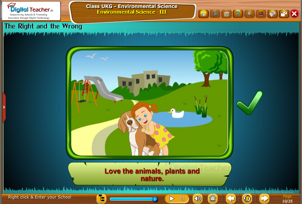 The Right and wrong 1