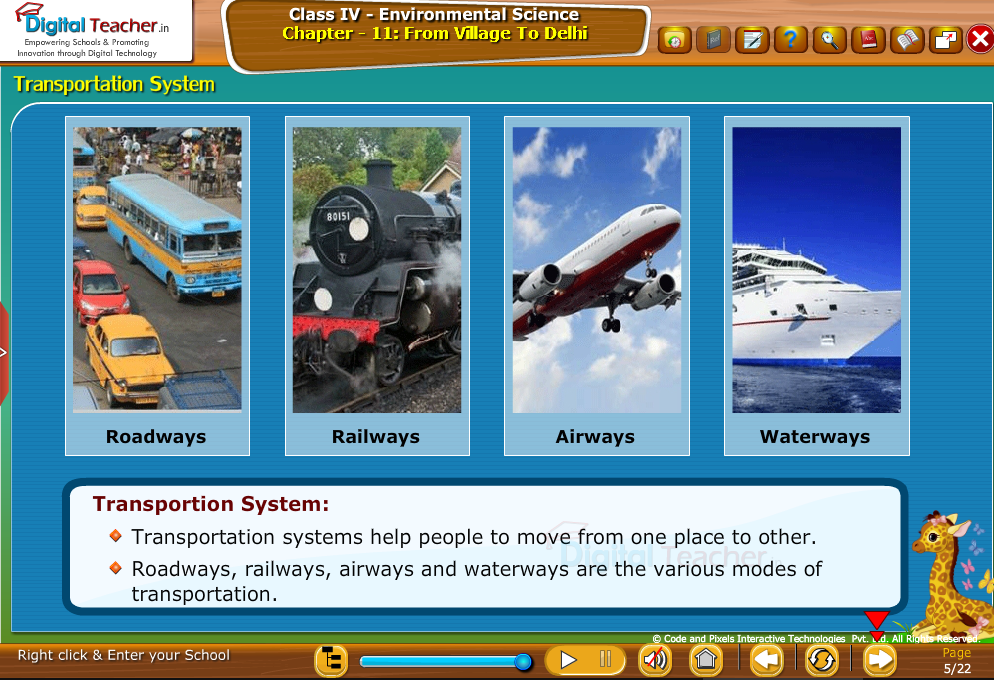 Transportion system
