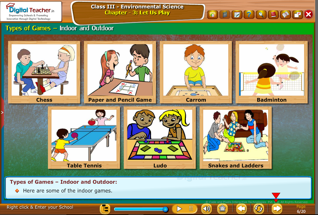 Types of Games-Indoor and Outdoor