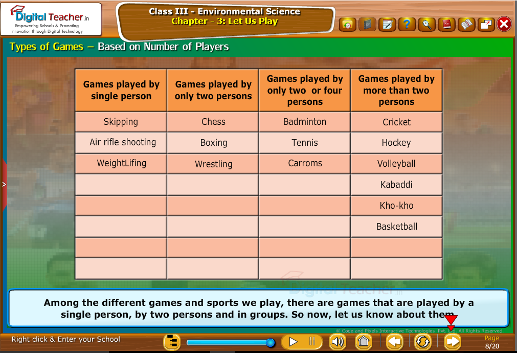 Types of games-based on number of players