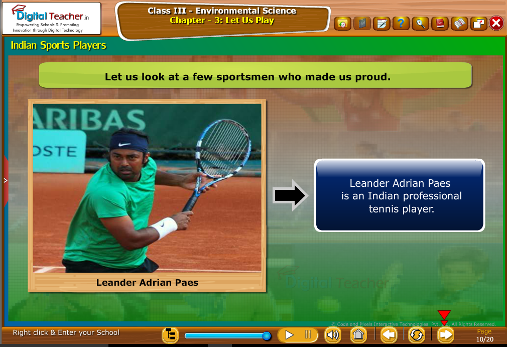 indian sports players