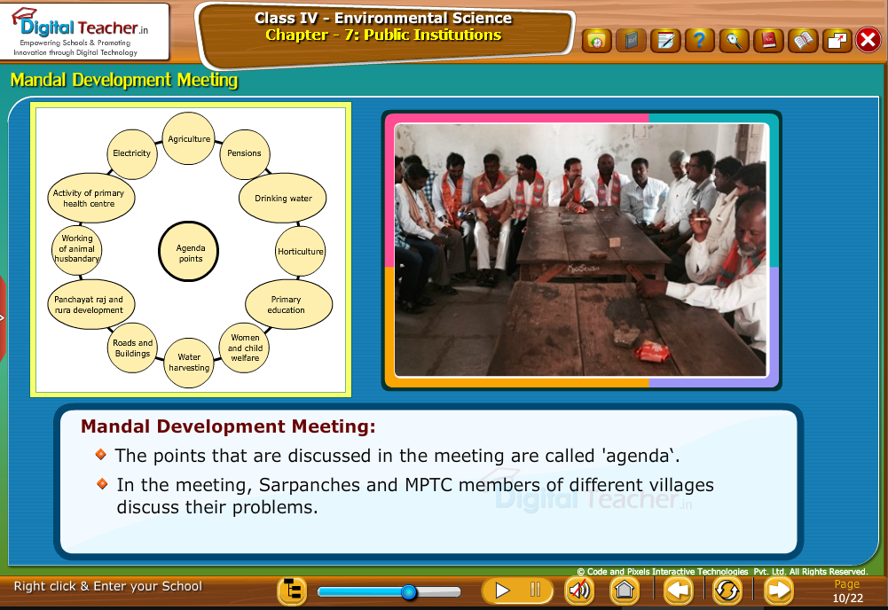 mandal developing meeting