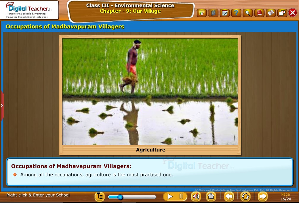 occupations o mahadevapuram villagers