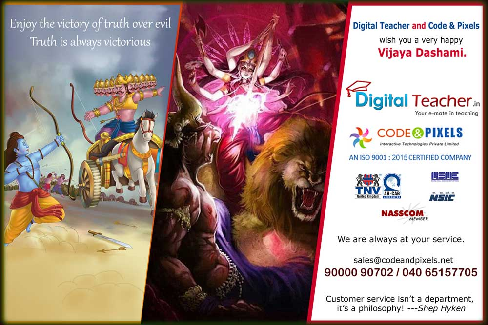 Enjoy the victory of truth over evil Truth is always victorious - Digital Teacher