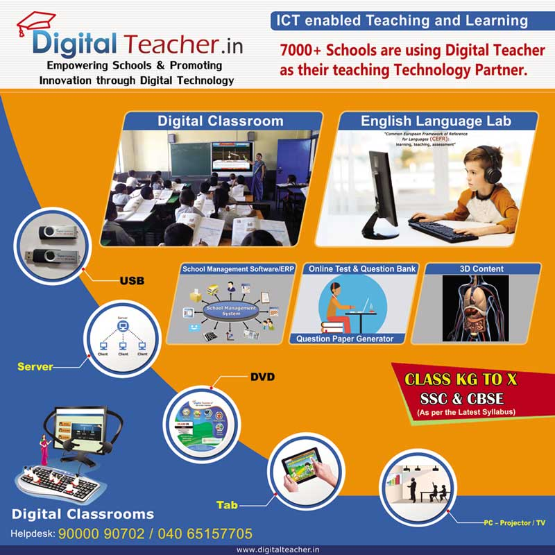 ICT enabled Teaching and Learning - Digital Teacher