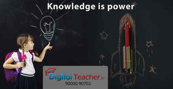 Knowledge is power - Digital Teacher