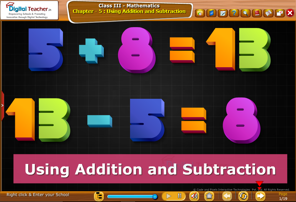 Using Additon and Subtraction