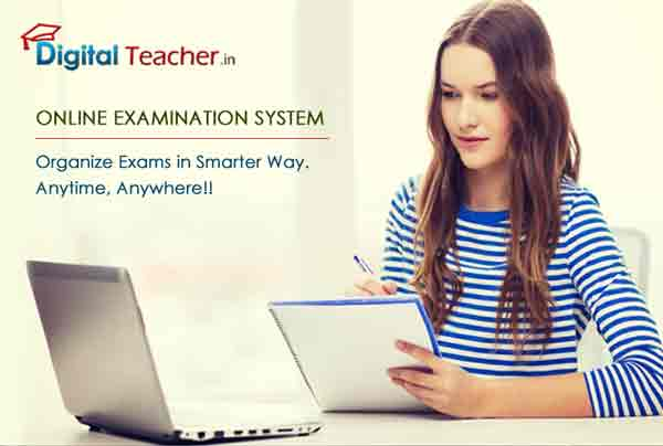 Write your exam at any time with digital teacher online examination software