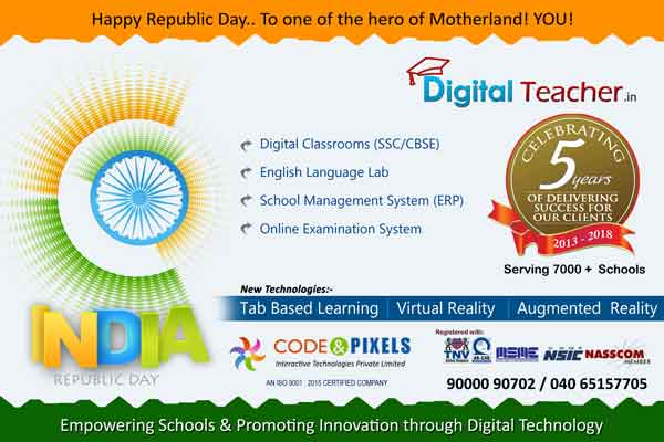 Happy Republic Day -Digital Teacher
