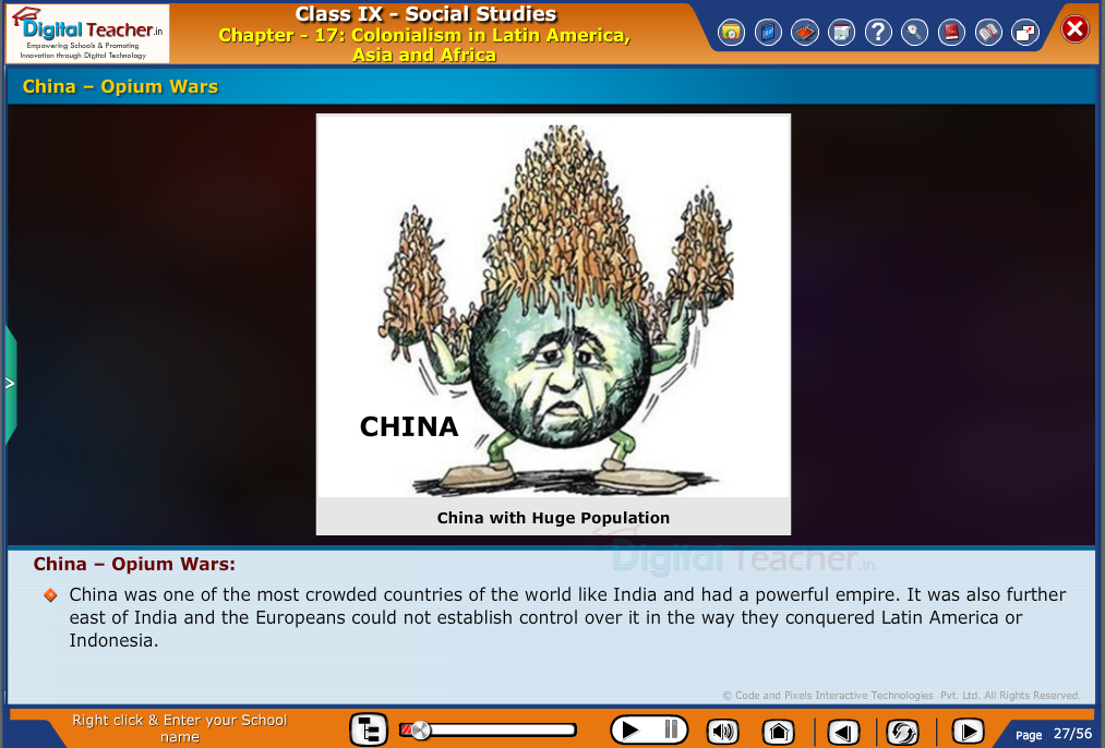 Smart class - social studies on colonialism and china - opium wars