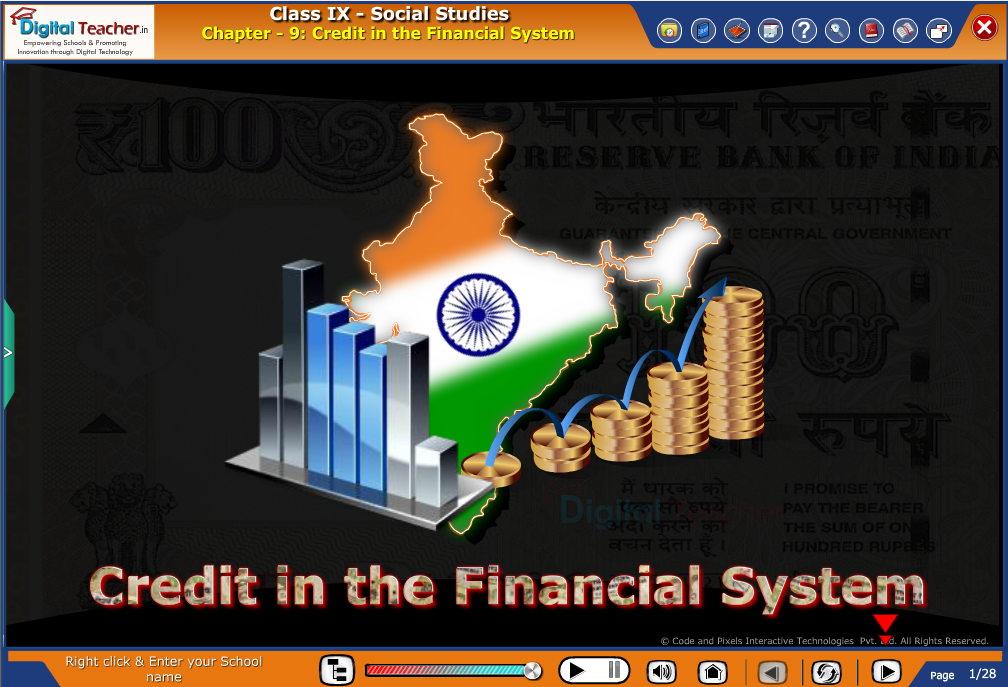 Smart class - social studies on credit in the financial system