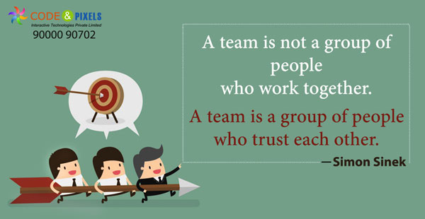 Team Work is compilsory to build Successful Business | Code and Pixels