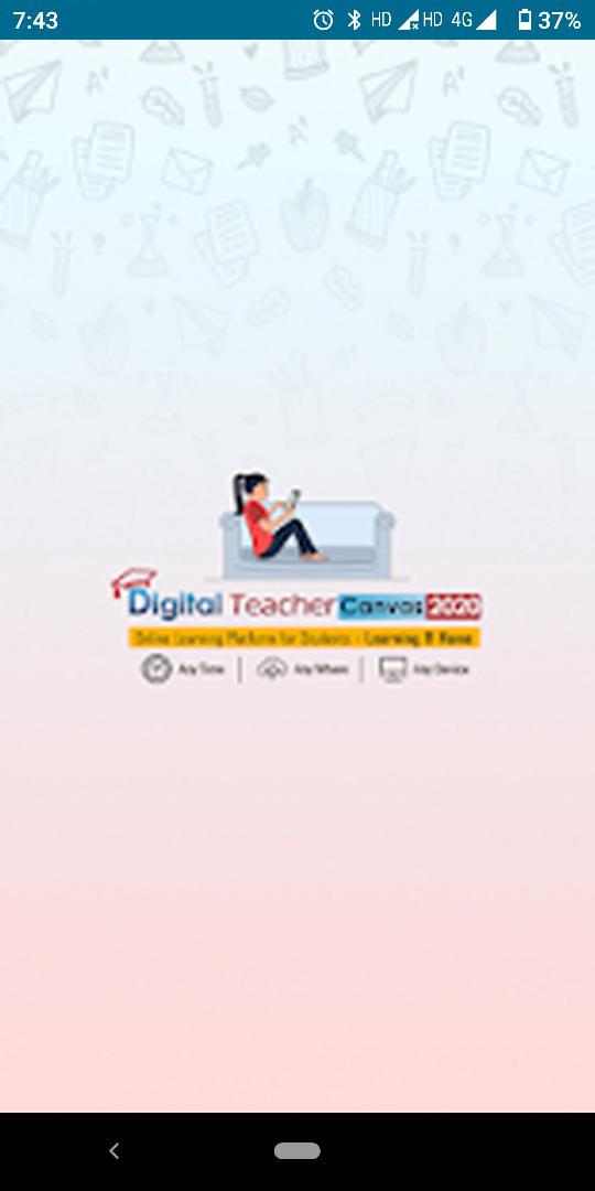 Digital Teacher Learning App